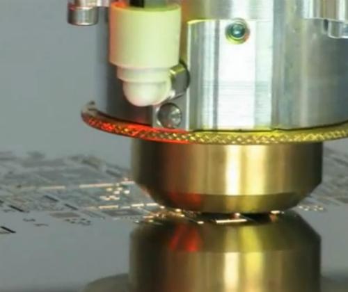 Close up laser